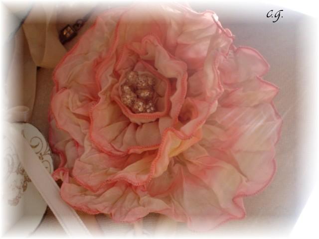 Initials flower