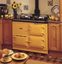 Aga_two_oven_cooker_yellow