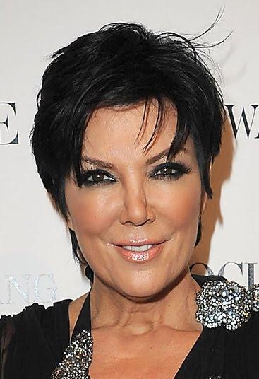 Kris Jenner Boy Cut 2010
