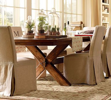 Pottery barn table